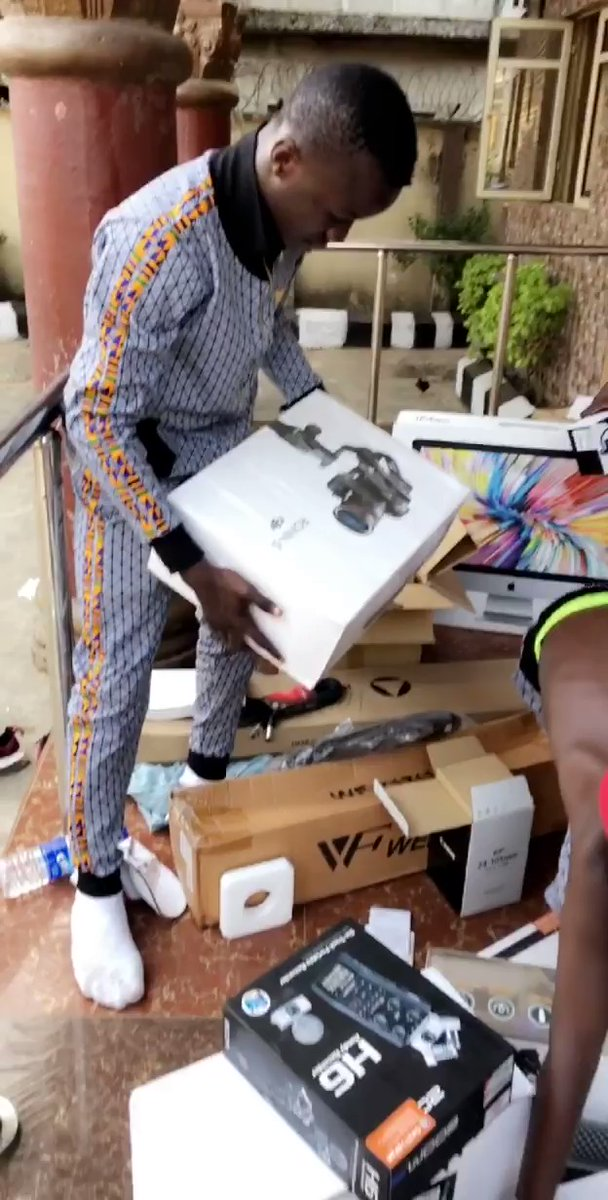 Ikorodu Bois receive gift from Netflix