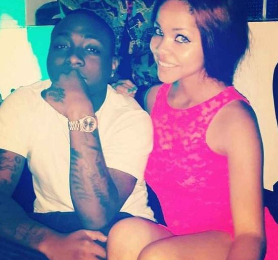 nengi and davido in 2013