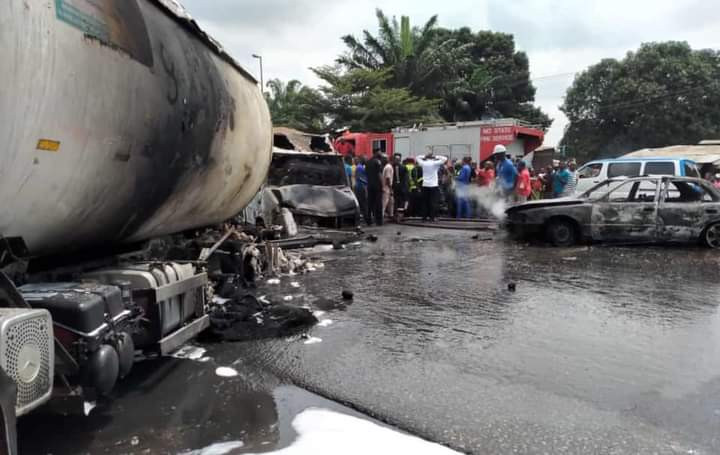 Tanker explosion in Imo state