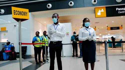 Nigerian airport officials