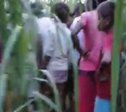 The girl's body was found in a sugarcane field