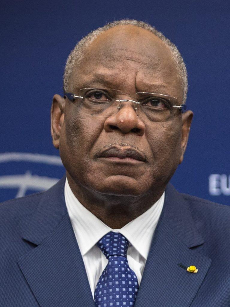 Mali's President Ibrahim Keita Boubacar