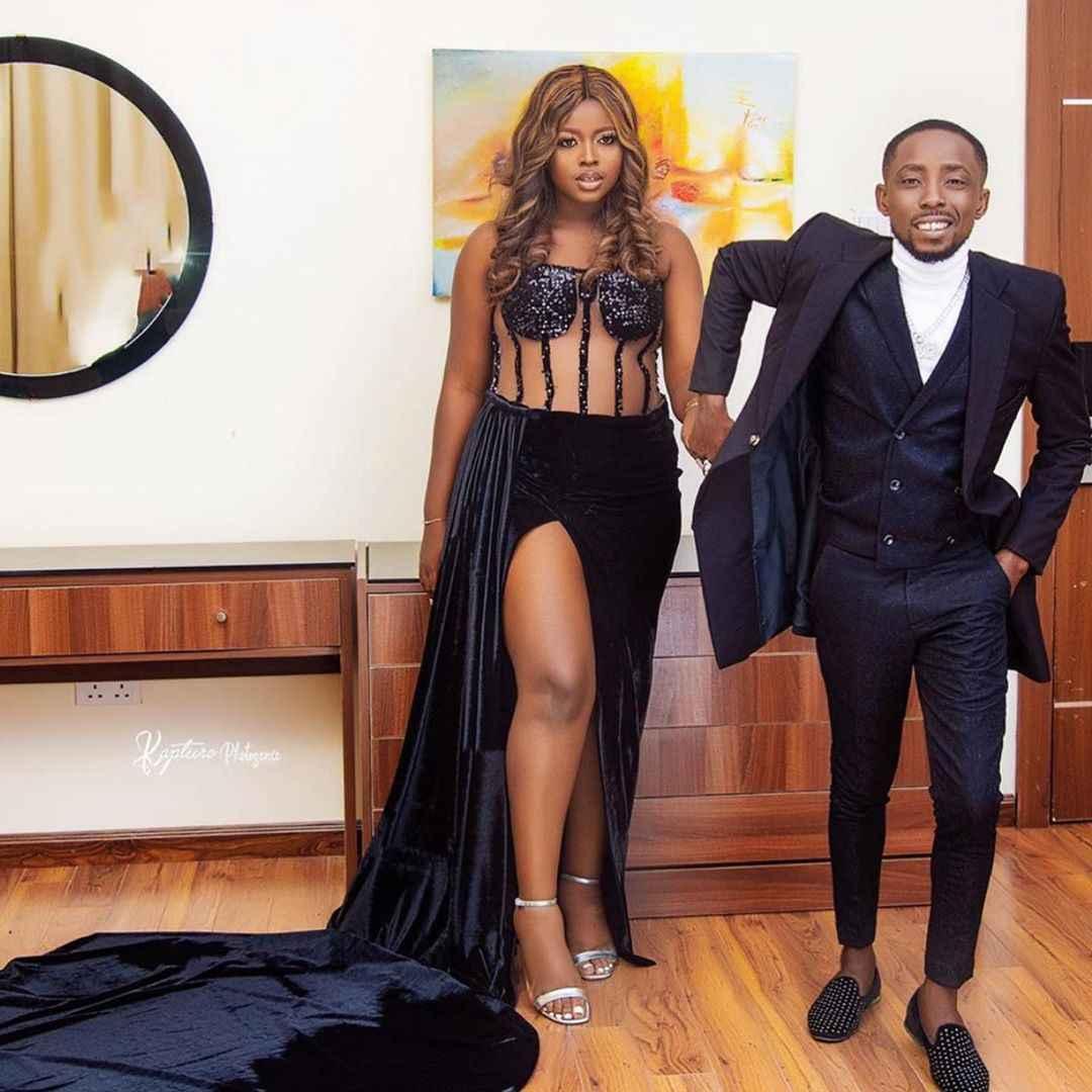 Beautiful Pre-wedding Photos Of Nigerian Rapper, Erigga And His Fiancee
