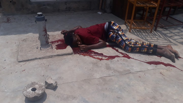 The victim killed by cultists in Ojota