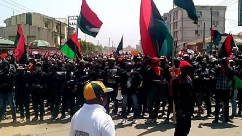 Biafra youths