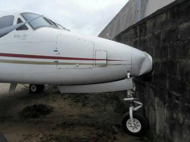 Jet accident