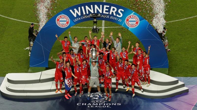Bayern Munich, 2020 UEFA Champions League winners