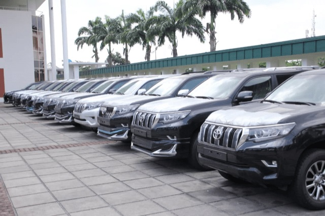 Cars Wike bought for lawmakers in the state