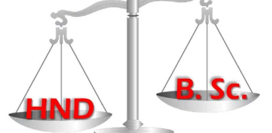 HND vs B.sc