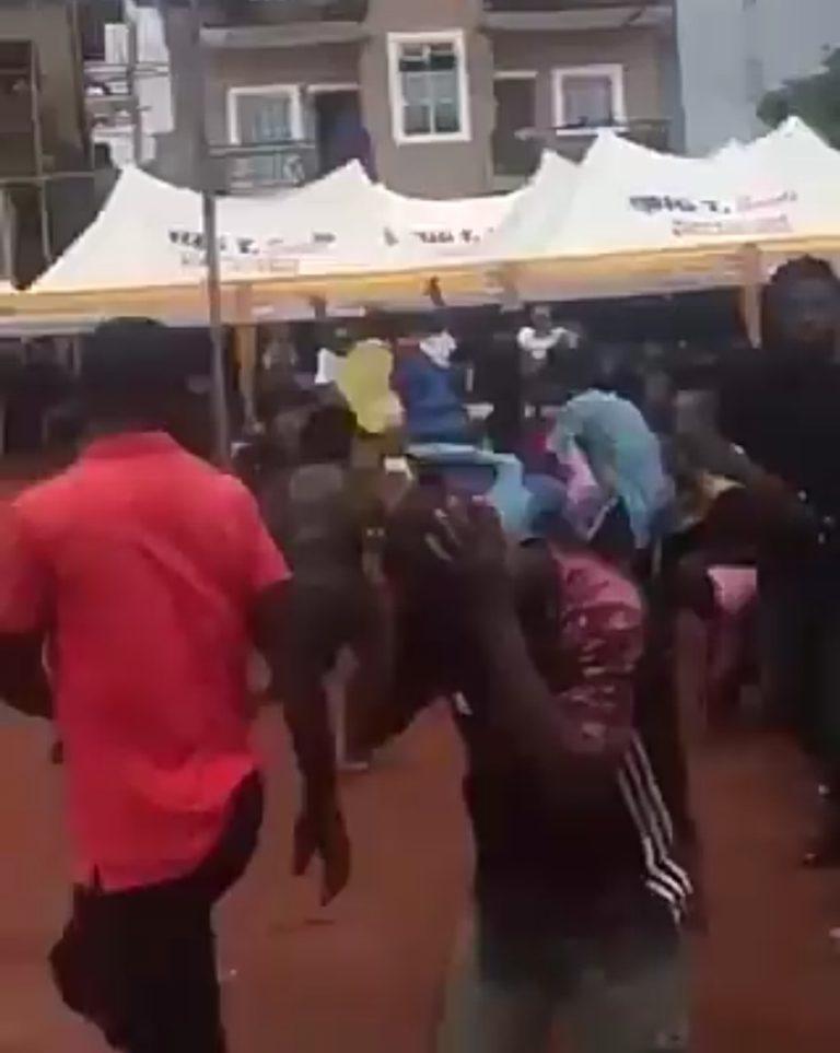 Man slapped for begging for money