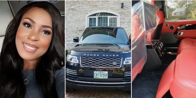 Linda Ikeji acquires new car