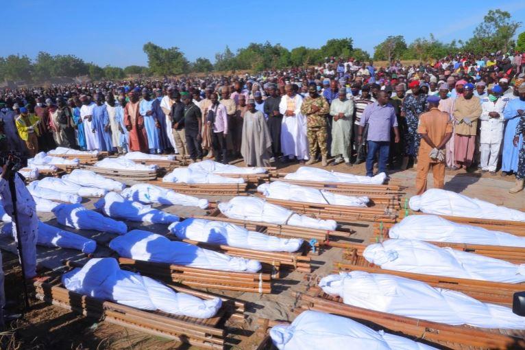 Slaughtered Borno farmers