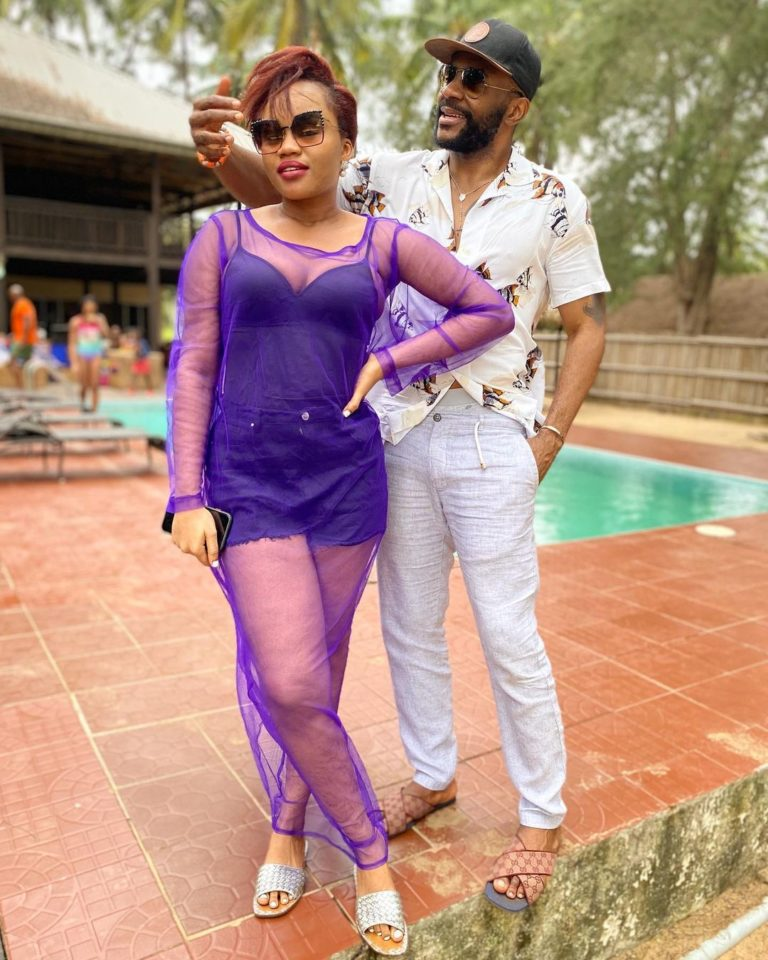 Ebuka and wife, Cynthia