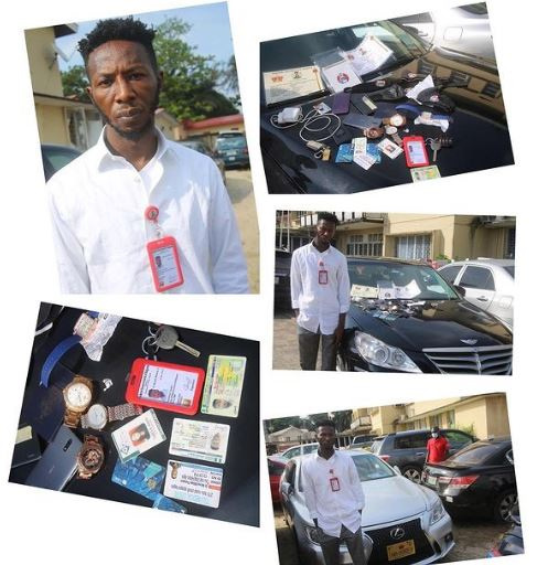The fake EFCC staff nabbed for extortion