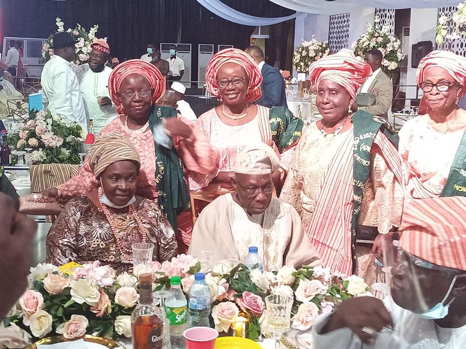Photos From The Wedding Of Ex-President Obasanjo's Son, Seun Who Gifted His Bride A Mercedes Benz SUV