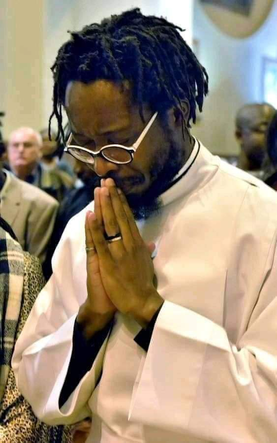 The man in dreads ordained as a priest