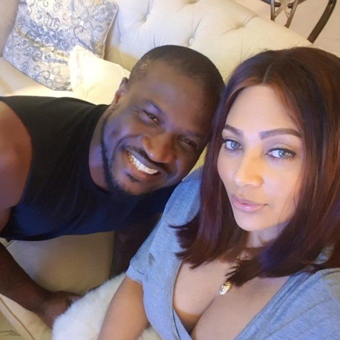 Peter Okoye and Lola