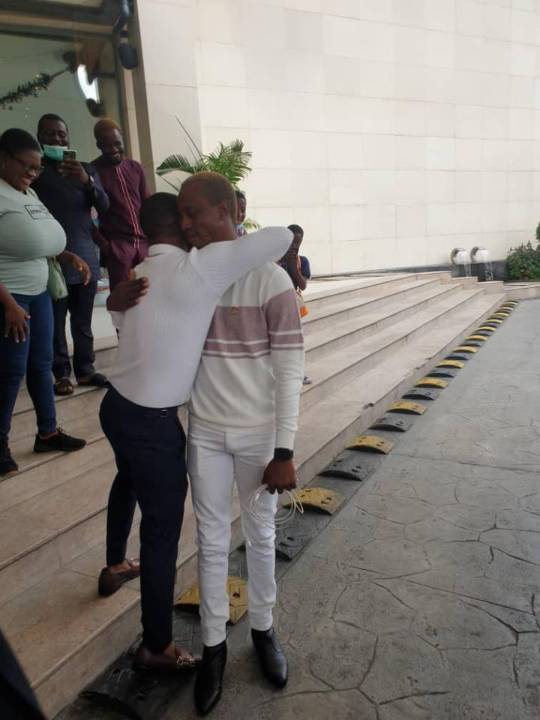 Korede Bello gifts manager brand new car