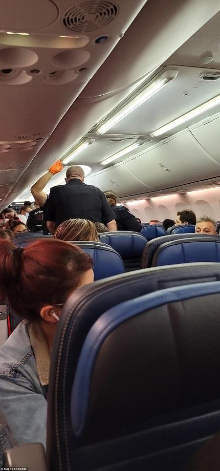 Passenger dies of coronavirus inside plane