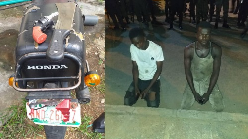Cultists caught robbing motorists in Lagos
