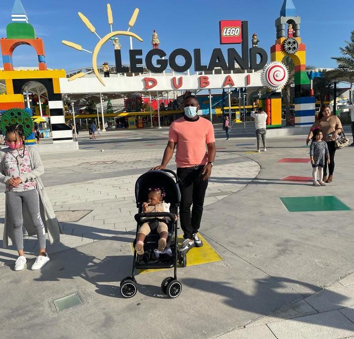 Ubi Franklin enjoys vacation in Dubai with fourth babymama