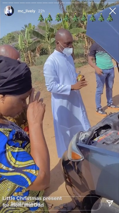 MC lively buys car for his parents