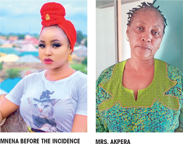 The woman attacked her alleged husband's sidechic