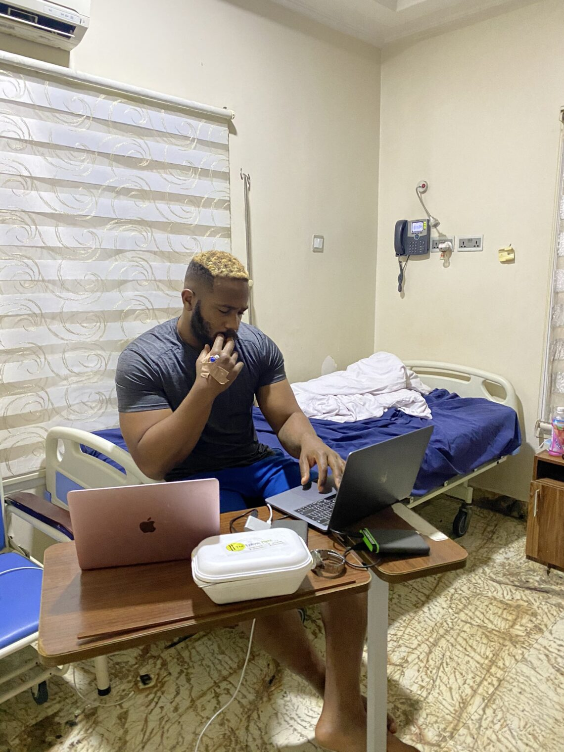 Kiddwaya hospitalized