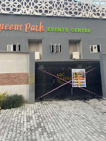 Queens Park event centre sealed by