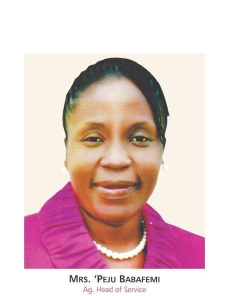 Mrs Morenike Olapeju Babafemi