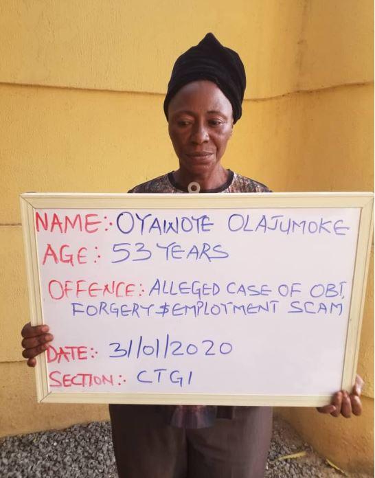 Mrs. Olajumoke Rhoda Oyawoye