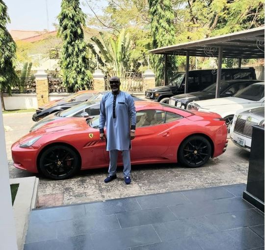 Dino Melaye shows off his fleet of cars