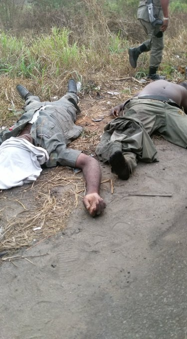 Nigerian police officers die while chasing commercial vehicle