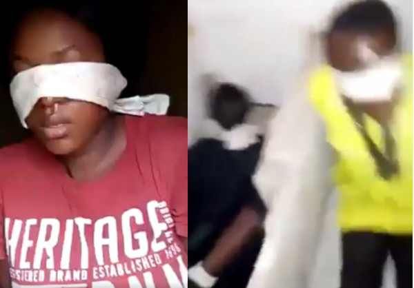 The kidnap victims were rescued by SARS operatives