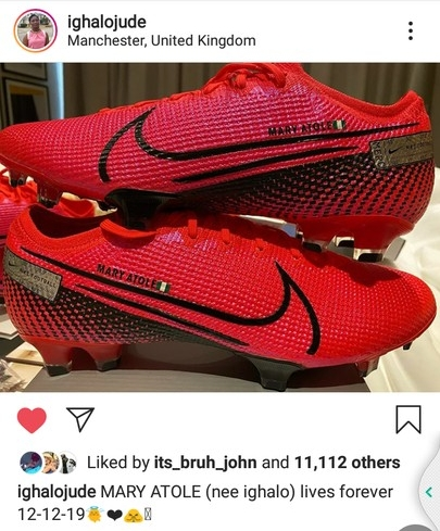 Ighalo Names New Boots