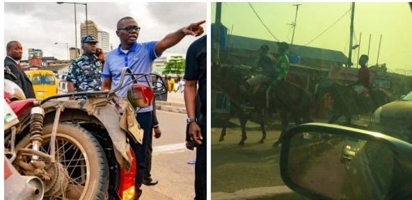 Babajide Sanwo-Olu bans okada and tricycles in Lagos