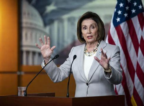 US House speaker, Nancy Pelosi