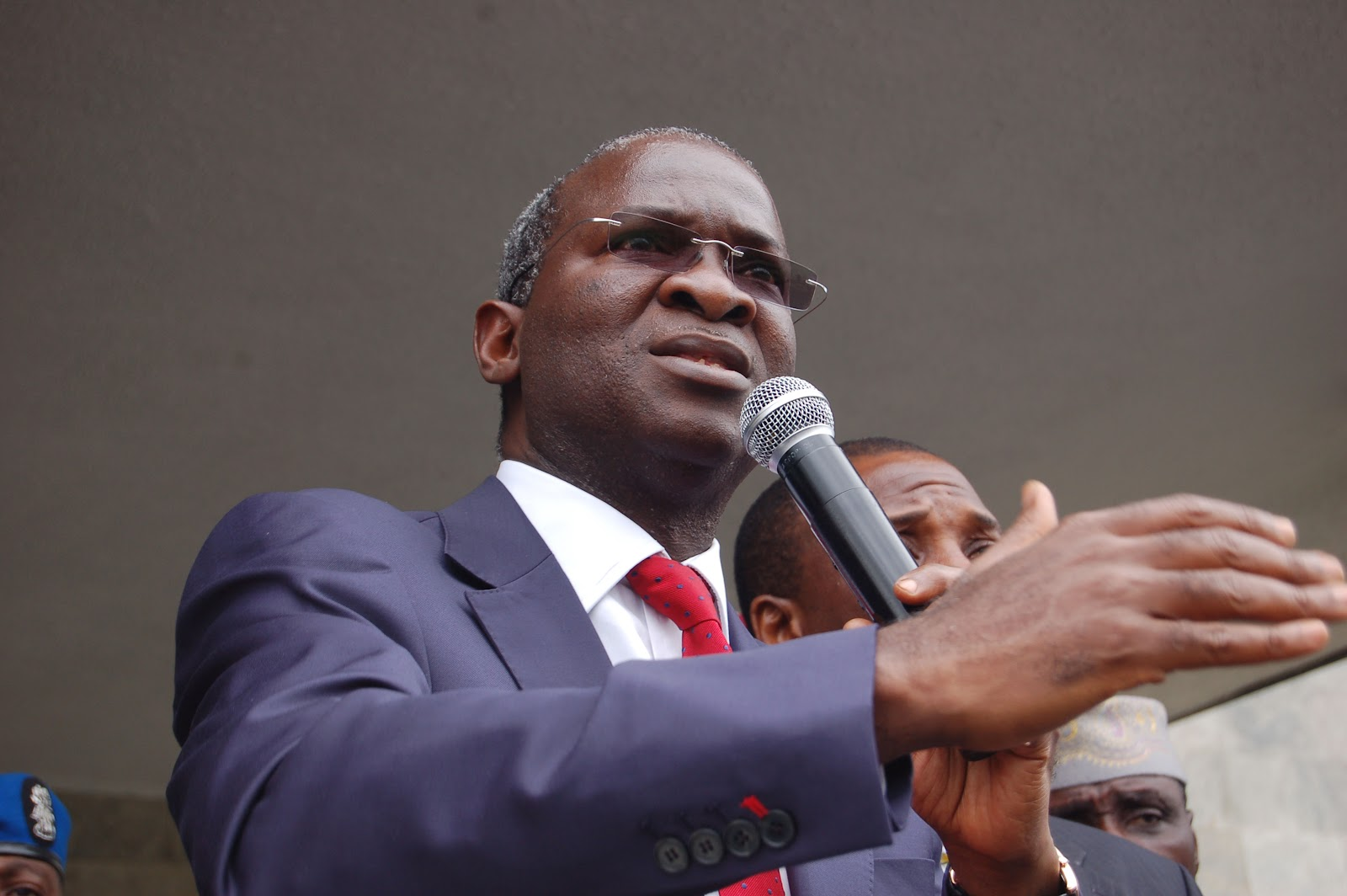Minister for Works and Housing, Babatunde Fashola