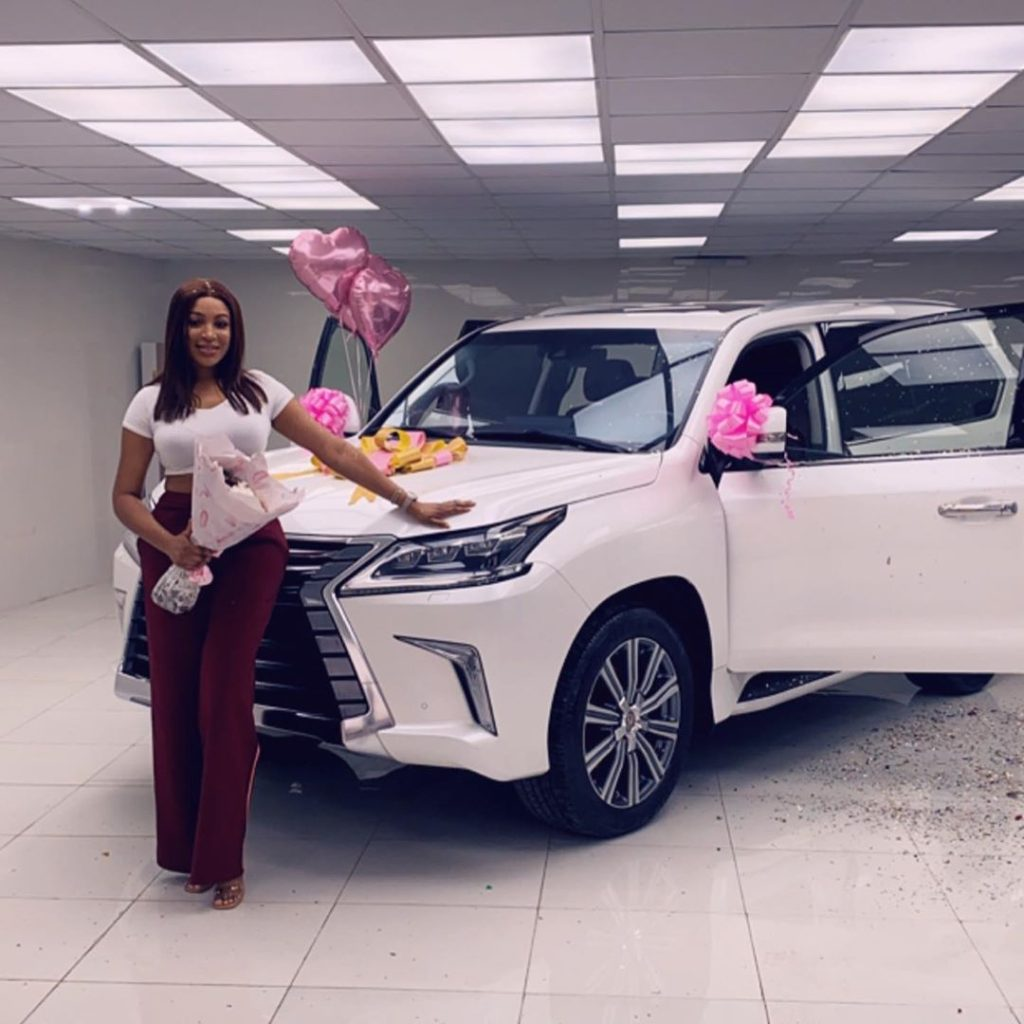 Dabota Lawson acquires a brand new Lexus jeep