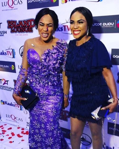 Faithia Balogun and Iyabo Ojo
