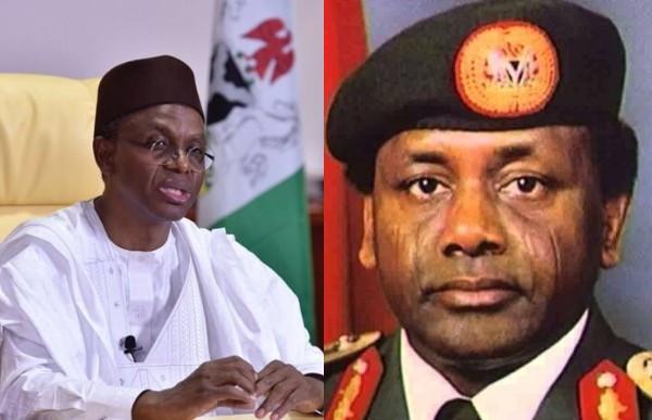Governor El-Rufai and Sani Abacha
