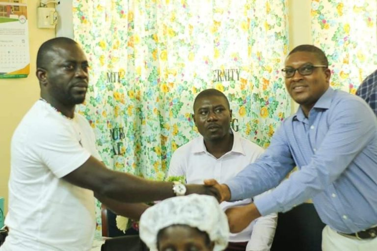 Chris =-Vincent Agyapon Febiri has been commended for his selfless act