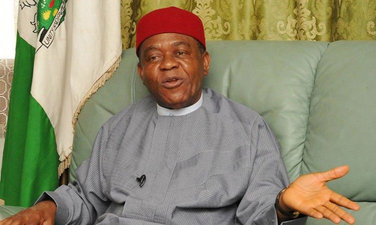 former Abia State Governor Theodore Orji