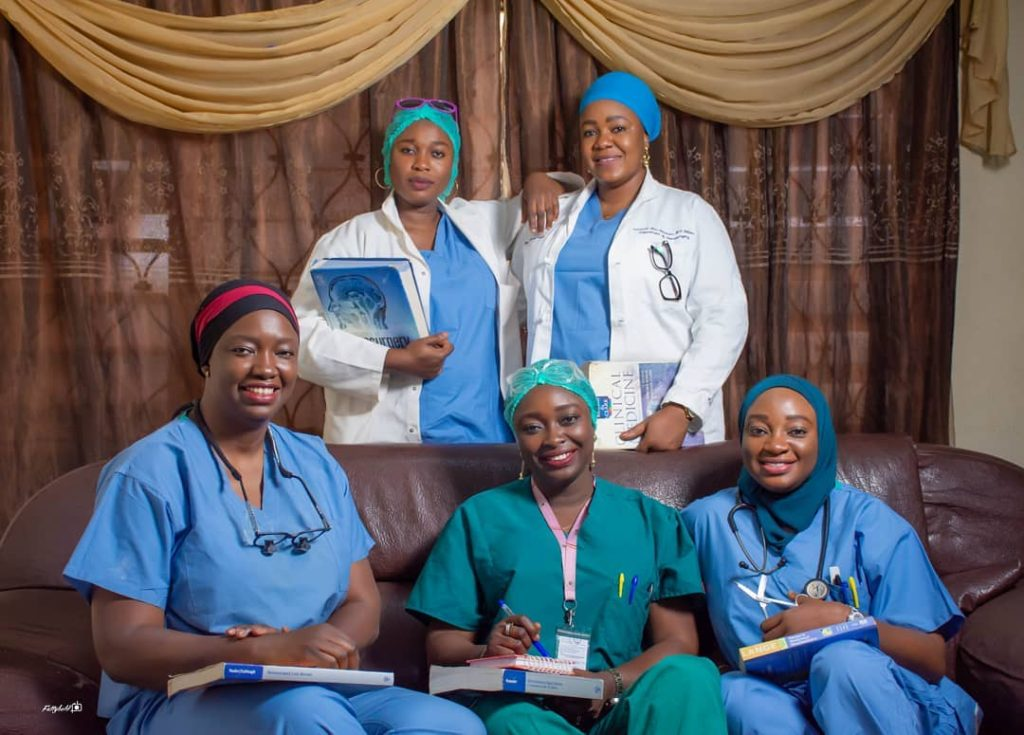 Five sisters who are all medical doctors