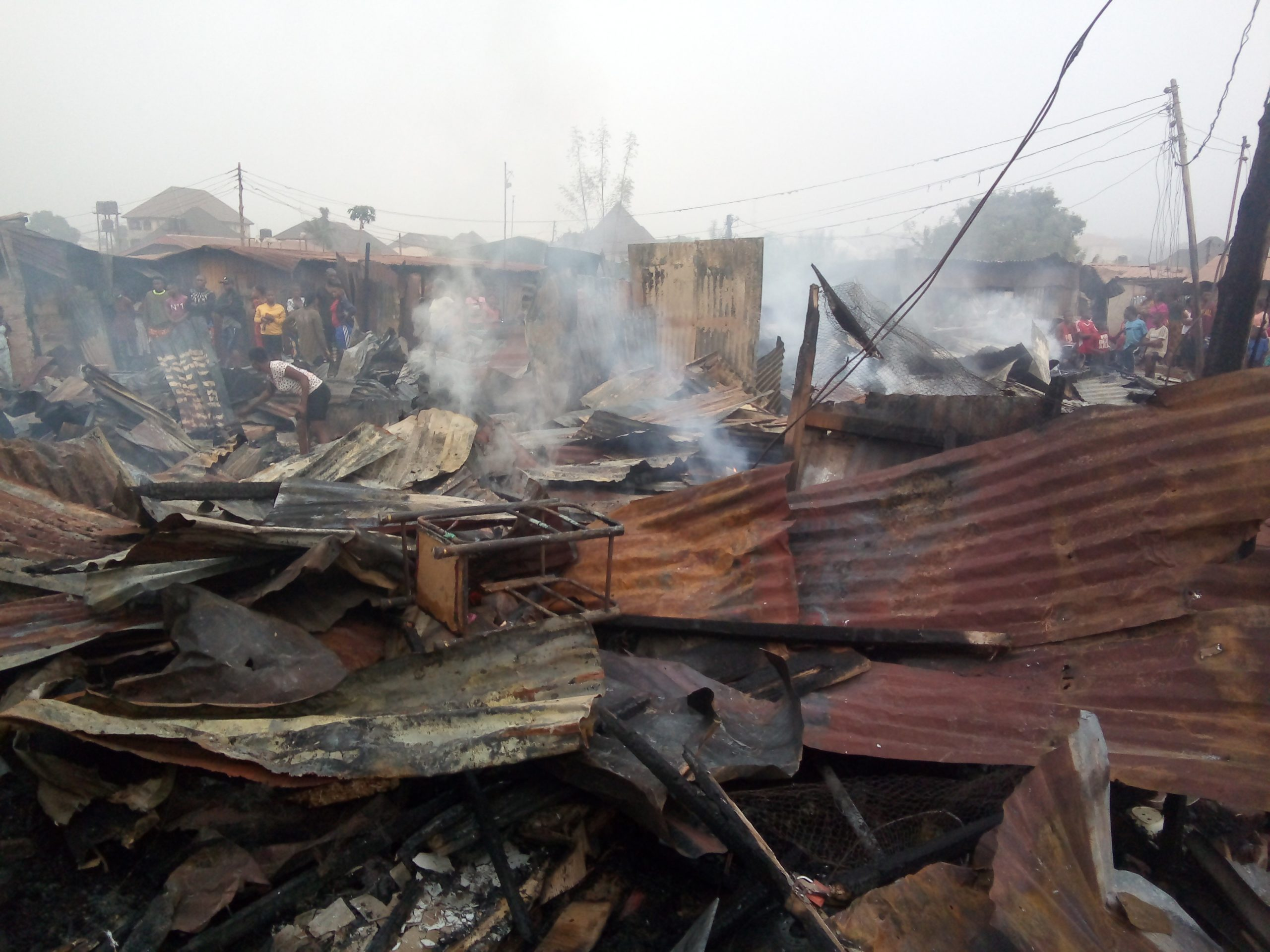 Little girl dies in tragic fire accident
