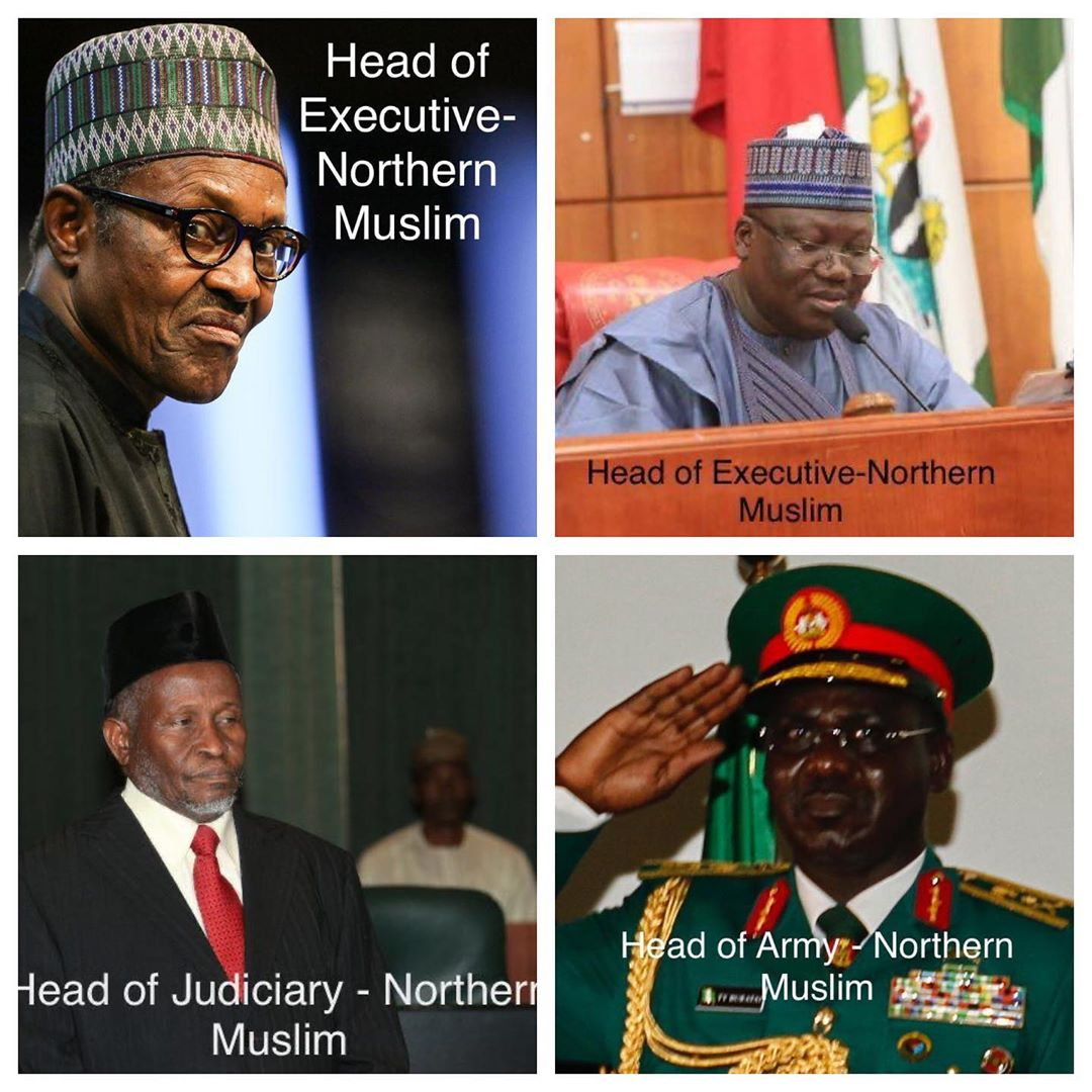 Northern leaders in political positions