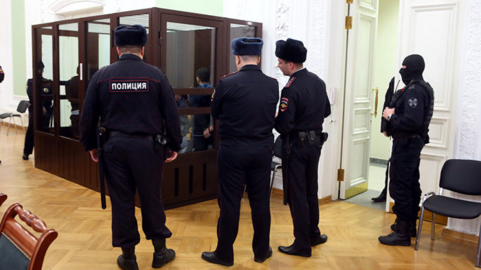 The Russian man killed himself after being sentenced for corruption