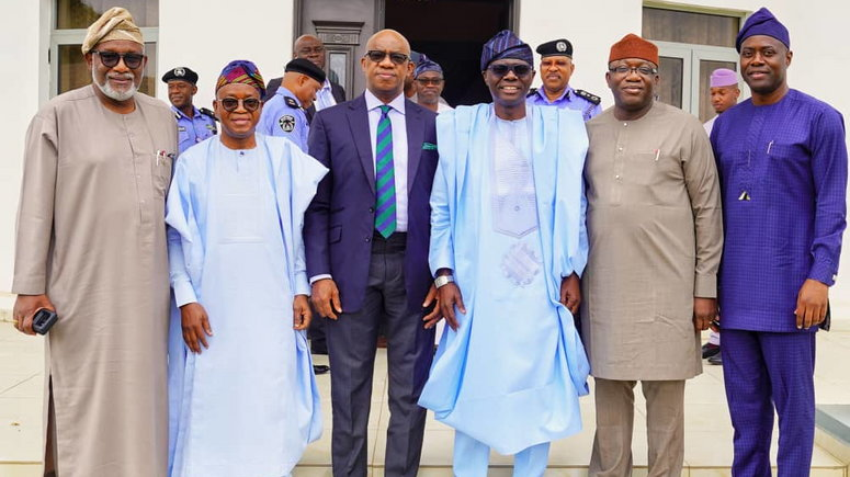 Governors of the South West