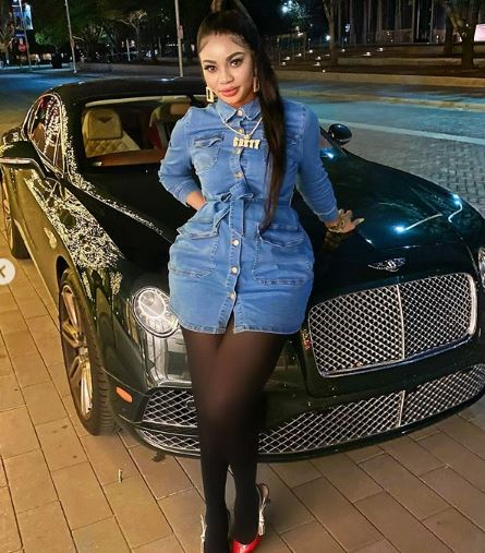 Nigerian Lady Gifts Mum new Benz Jeep for Valentine.