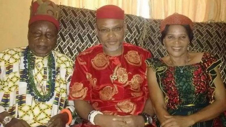 Kanu and his late parents